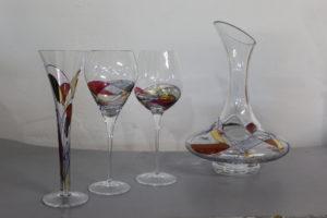 carafe et verres milano